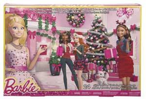 køb barbie julekalenderen til pigen