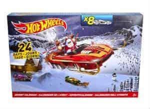 køb den gode hot wheels julekalender til drengen