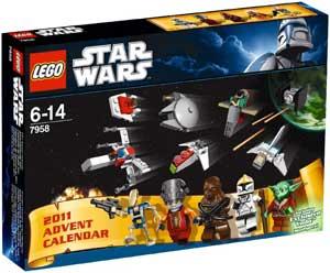 giv ham lego star wars kalenderen til jul