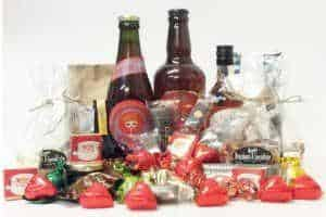 giv en færdig pakkekalender med alkohol til unge