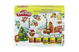 giv play doh kalenderen til jul