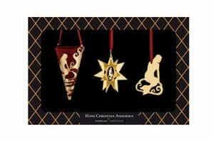 køb H.C. Andersen æske med forskellige dele til julepynt