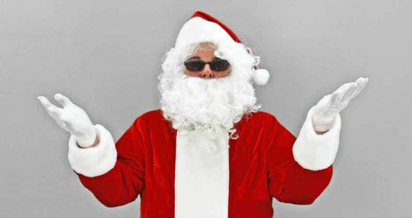 sådan bluffer du børn som julemand