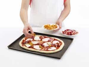 Lékué pizzamåtte giver den rigtige pizaa