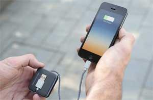 Jump cable iphone oplader er den praktiske gadget