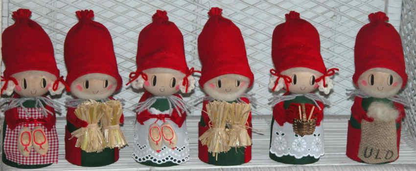 julepynt har ofte været brugt som den klassiske mandelgave