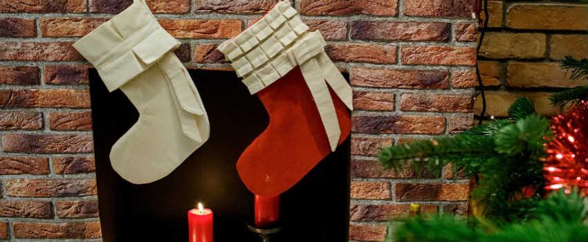køb flotte julesokker til børn