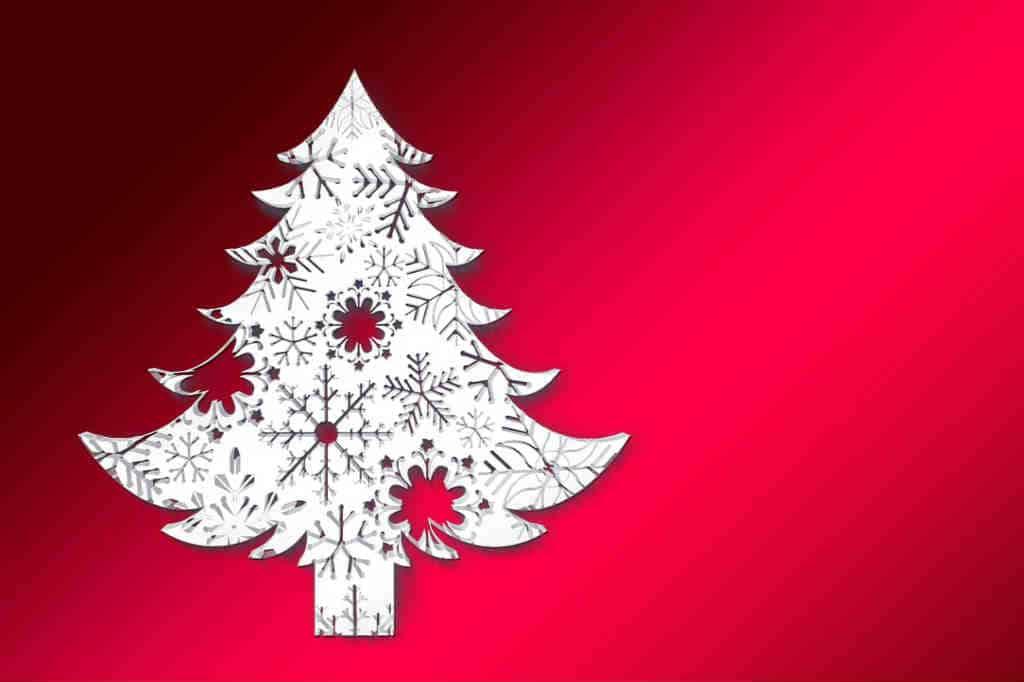 brug det flotte juletræ til juleaften