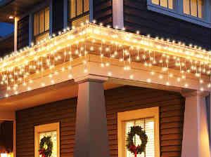 køb istap lyskæder til at lyse hele huset op