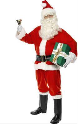 Billig og god julemandsdragt til dig der skal være julemand i år