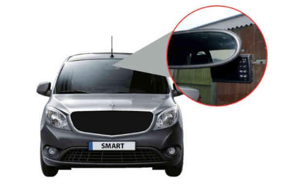 det smarte hd vehicle kamera kan monteres på alle biler