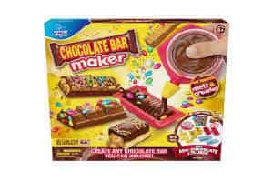den sjove chokolate bar maker er en fed gaveide til barnet på 8 år
