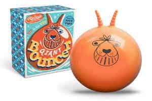 Den kæmpe hoppebold er den traditionelle gode gaveide til børn