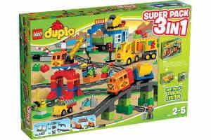 Giv Lego Duplo i gave til barnet