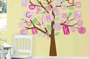 køb de smarte wallstickers til børneværelset i gave