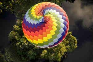 Giv ballonflyvning oplevelsen til ham eller hende