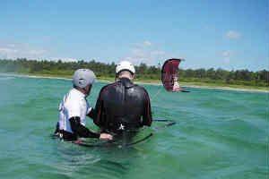 giv ham det fede kitesurfing kursus i gave
