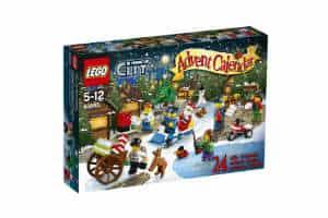 Køb Lego City adventskalender til børn