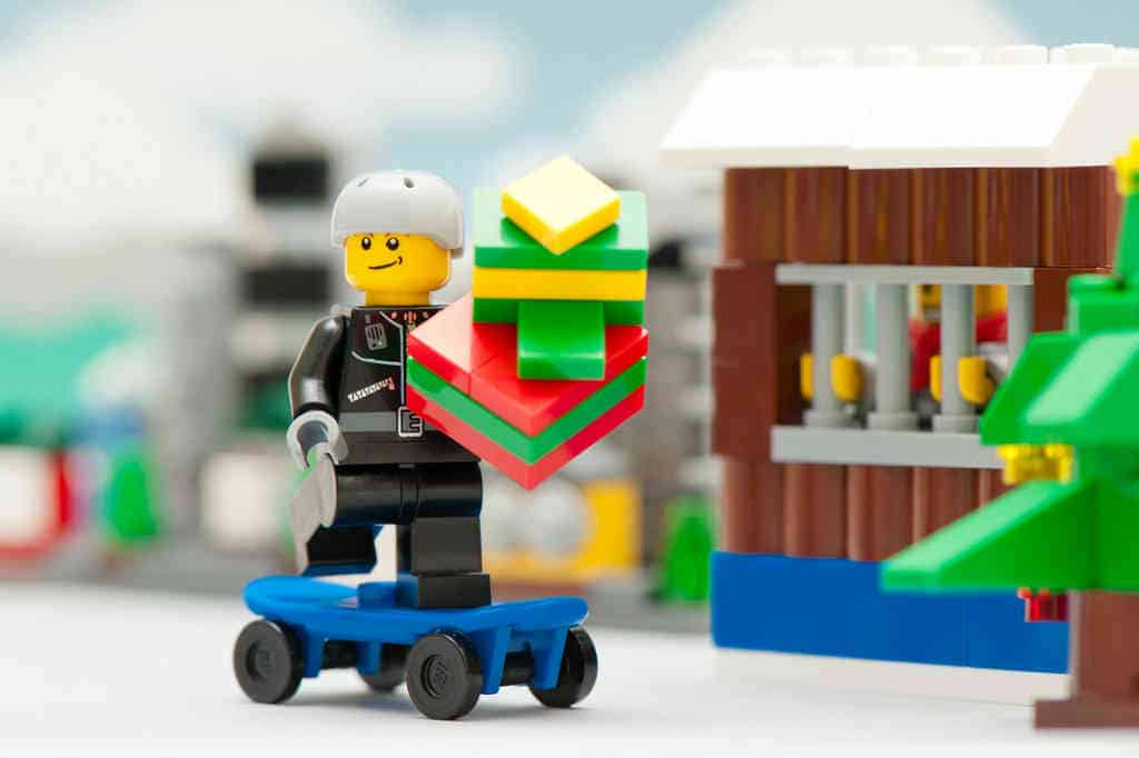 Køb en Lego julekalender til drenge og piger