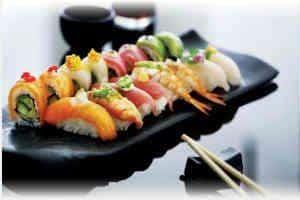giv hende en lækker sushi oplevelsesgave