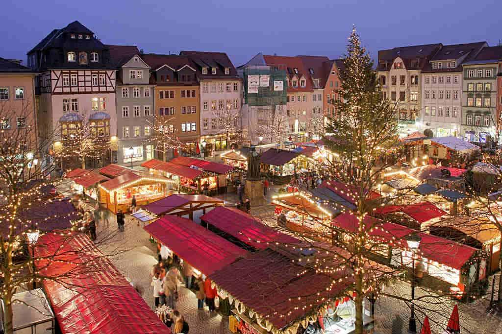 Julemarked i Lübeck