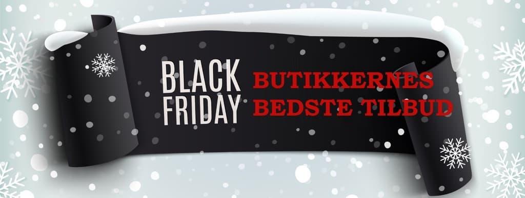 Black Friday - Butikkernes tilbud