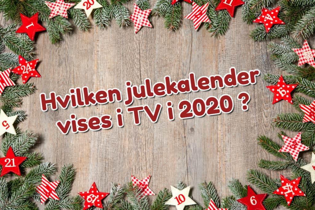 Årets julekalendere i TV 2020